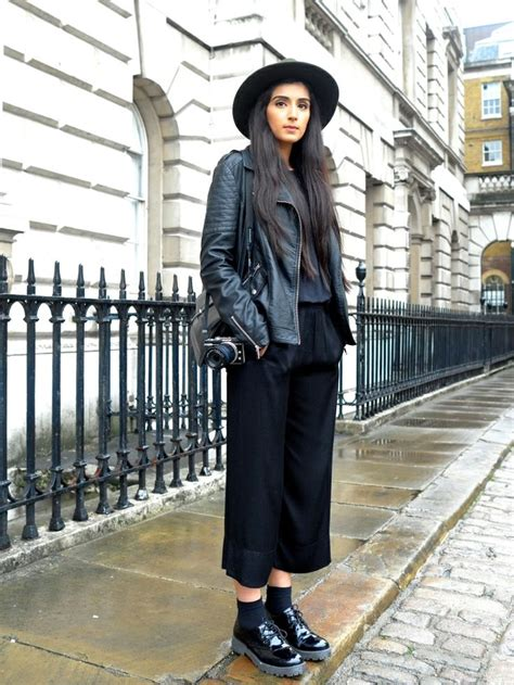 Sombre Belle: How To Wear Culottes in Winter