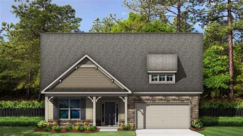 Shandon Plan at The Oaks at SummerLake in Lexington, SC by