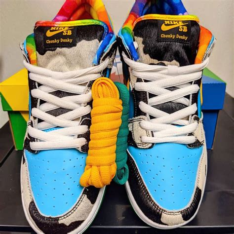 """Ben & Jerry's x Nike SB Dunk Low """"Chunky Dunky""""   Sneakers"""