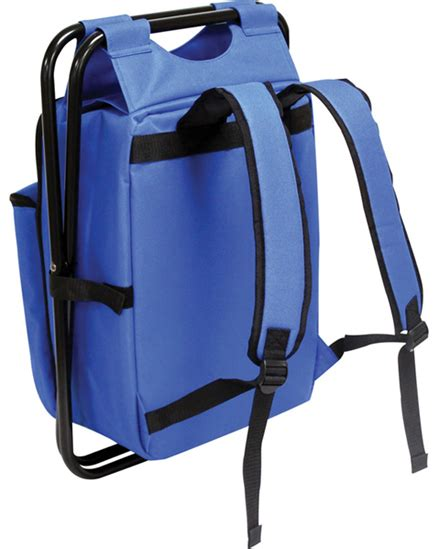 Cooler Chair & Backpack Combo w/ Padded Tablet Sleeve