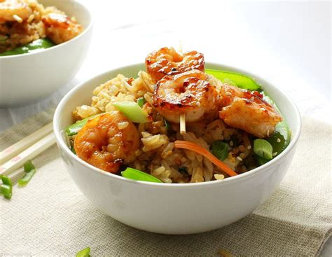 Easy 20 Minute Shrimp Fried Rice - The Chunky Chef