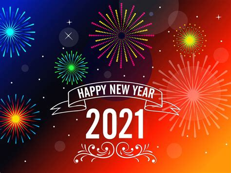 Happy New Year 2021 Messages Greeting Card Wallpaper Hd
