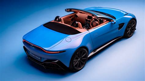 The 2021 Aston Martin Vantage Roadster Is a British Beauty
