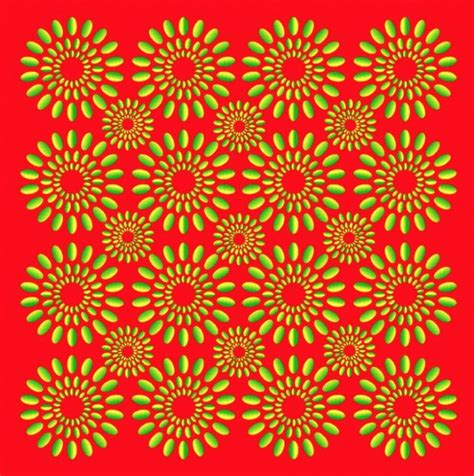 Mind-blowingly hypnotic Optical Illusions   WordlessTech