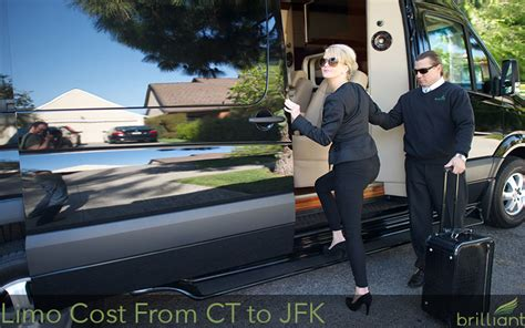 How Much Does a Limo to JFK from CT Cost?