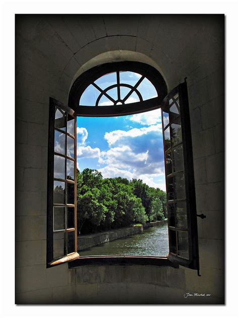 Open Window at Chateau Chenonceau Photograph by Joan Minchak