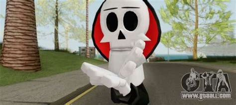 Grim (The Grim Adventures Of Billy And Mandy) for GTA San