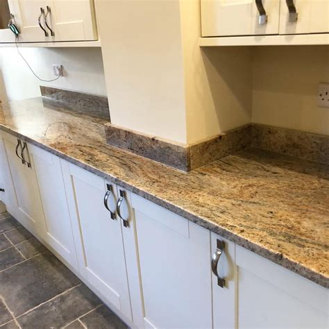Colonial Ivory Granite Worktops Wales - THE MARBLE WAREHOUSE