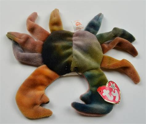 """Ty - The Beanie Babies Collection - Claude - 7"""" Round"""
