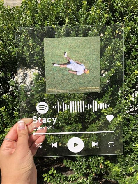 Spotify Acrylic Music Sign multiple choices | Etsy in 2020
