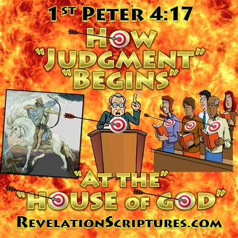 How Judgment Begins With The Household Of God - 1st Peter
