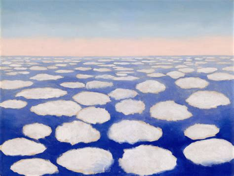 Above the Clouds I, 1962-1963 by Georgia O'Keeffe - Paper