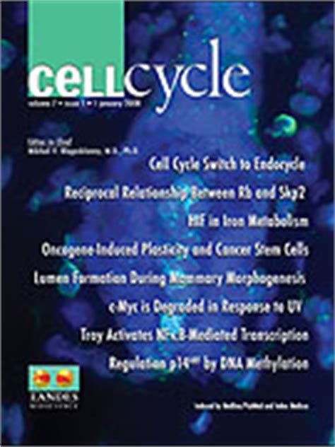 2008 Feb - Cell Cycle - ScienceWatch