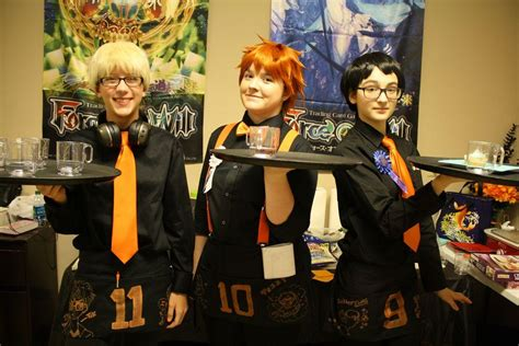 Cosplay cafe: Anime fans host an event inspired by